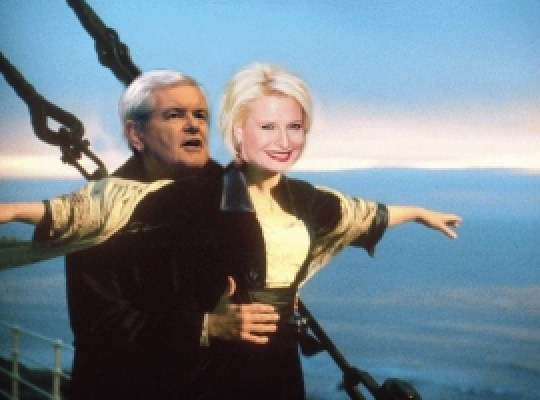 newt gingrich sailing in the greek islands