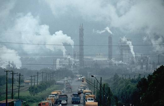 ohio most polluted state