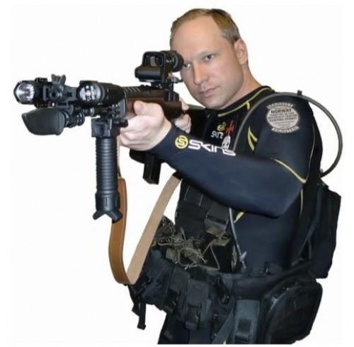 Breivick responsible for Oslo bombing and shooting posing as U.S. Navy Seal