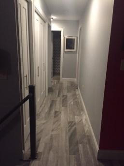 Hallway after reno