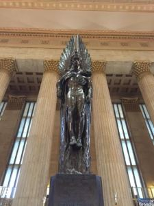 Statue in Philly - Student Loans