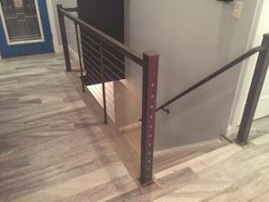 Modern railing