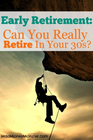 rock climber - can you really retire in your 30s?