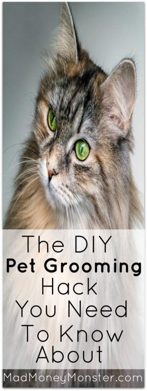 Pet Grooming | Pet Grooming Hack | DIY Pet Grooming | Frugal Pet Care | Frugal Pets via @MadMoneyMonster