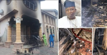 Sunday Igboho's House Set Ablaze After His Ultimatum To Fulani People In Oyo [Video] 1