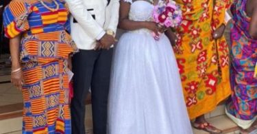 Joel God will punish you – Lady takes on Abena Moet's husband ; calls him 'ashawo' [Watch ]