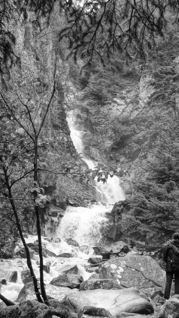 """Lower Reid Falls"" bei der Stadt Skagway (Alaska)"