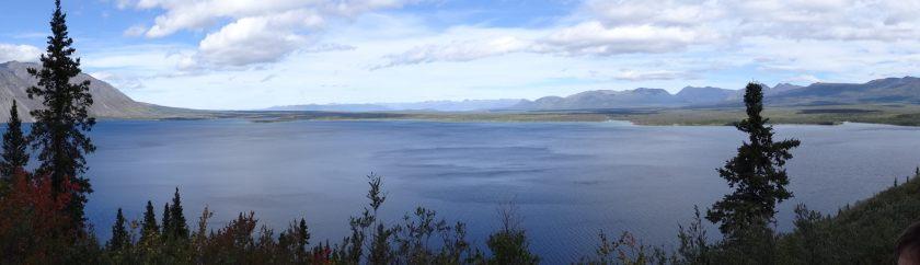 """Kathleen Lake"" (Kluane National Park, Yukon Territory, Kanada)"