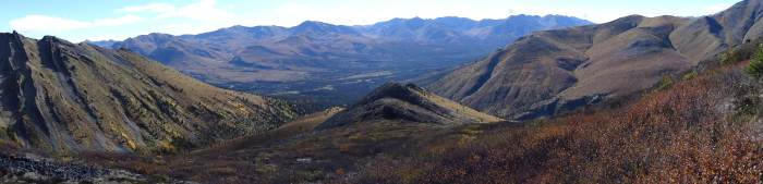 "im ""Yukon´s Tombstone Territorial Park"""