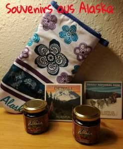 Souvenirs aus Alaska