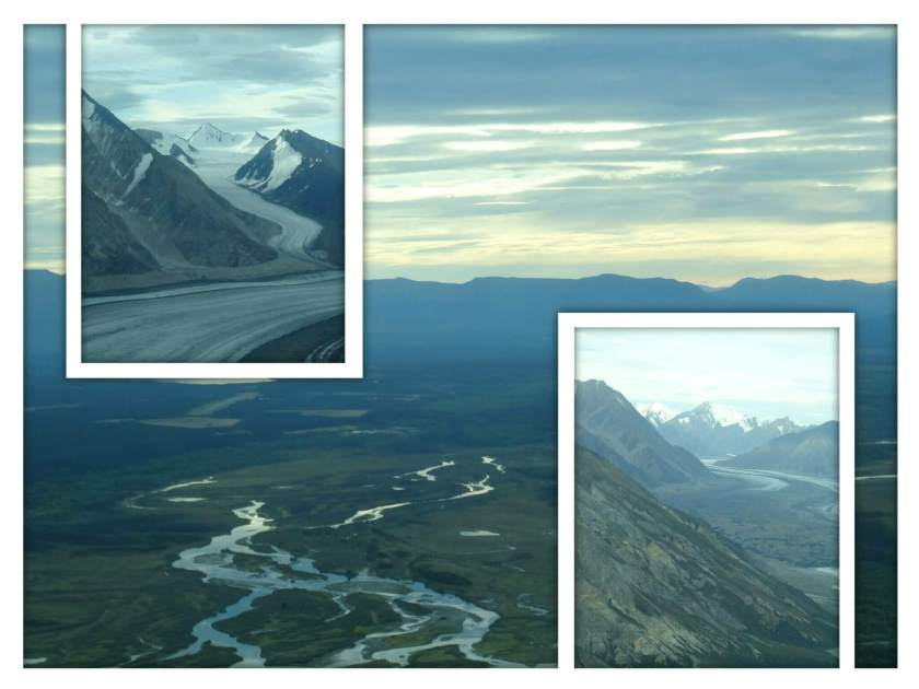 Impressionen vom Rundflug über die Gletscherlandschaft des Kluane National Parks (Kanada) und des angrenzenden Wrangell St. Elias National Parks (Alaska)