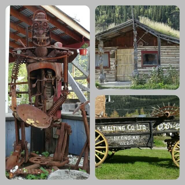 Impressionen vom Rundgang durch Dawson City (Kanada)