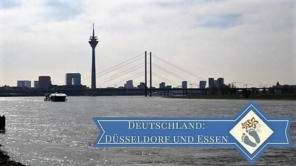Blick auf Düsseldorf vom Tonhallen-Ufer (Düsseldorf - Deutschland)
