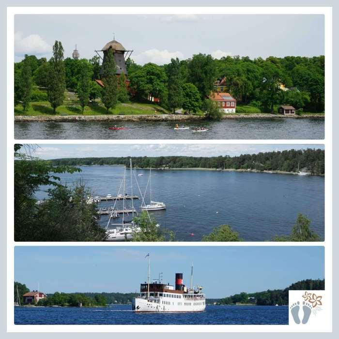 Ausflug mit dem Schiff in Stockholms Schärenwelt