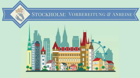 Illustration der Skyline von Stockholm