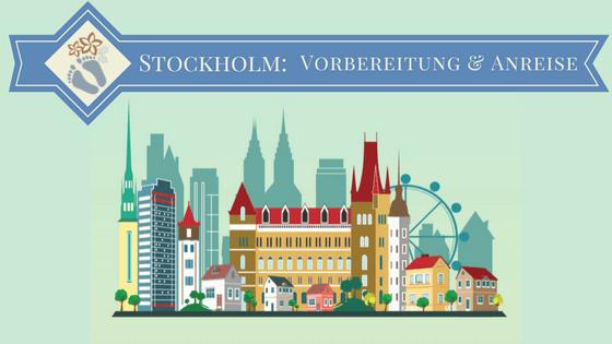 Illustration der Skyline von Stockholm