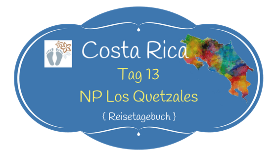 Costa Rica: Tag 13: Los Quetzales National Park 1