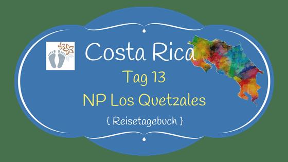 Costa Rica: Tag 13: Los Quetzales National Park 1