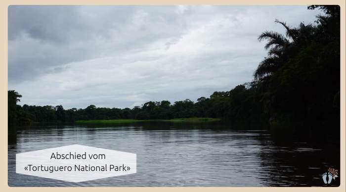 Rückfahrt vom «Tortuguero National Park» per Boot und durch kleine Seitenkanäle {Costa Rica}