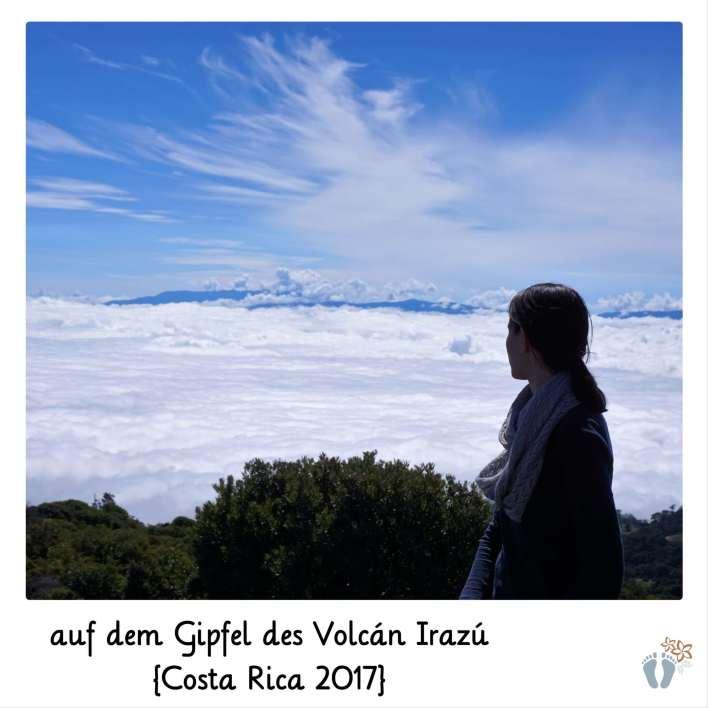 auf dem Gipfel des «Volcán Irazú» {Costa Rica 2017}