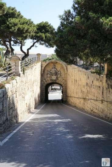 Reisetagebuch Malta: Tag 02: Blick auf das «Greek Gate» von «Mdina»