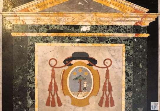 Reisetagebuch Malta: Tag 02: «Mdina»: «St. Paul's Cathedral»: Grabplatte