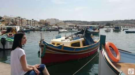Fischerboote in der Bucht von «Marsaxlokk» und MaDo {Reisetagebuch Malta: Tag 03}