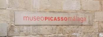 Schild vom «Museo Picasso Málaga» {Andalusien Reisetagebuch}