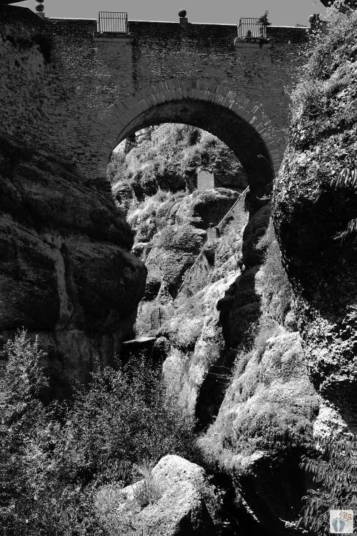 «Ronda»: «Puente Viejo» - alte Brücke {Andalusien Reisetagebuch}