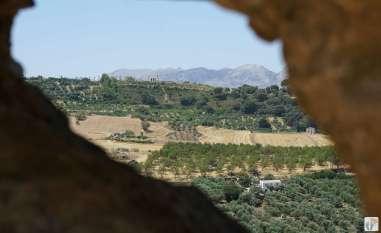 «Ronda»: Blick auf die Schlucht «El Tajo» {Andalusien Reisetagebuch}