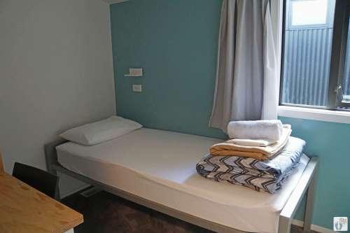 Zimmer im «YHA Queenstown Lakefront» {Reisetagebuch «Roadtrip durch Neuseeland mit dem Bus»: «Queenstown»}