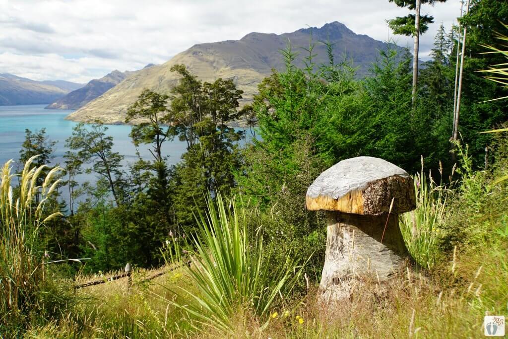 Wanderung «Tiki Trail» {Reisetagebuch «Roadtrip durch Neuseeland mit dem Bus»: «Queenstown»}
