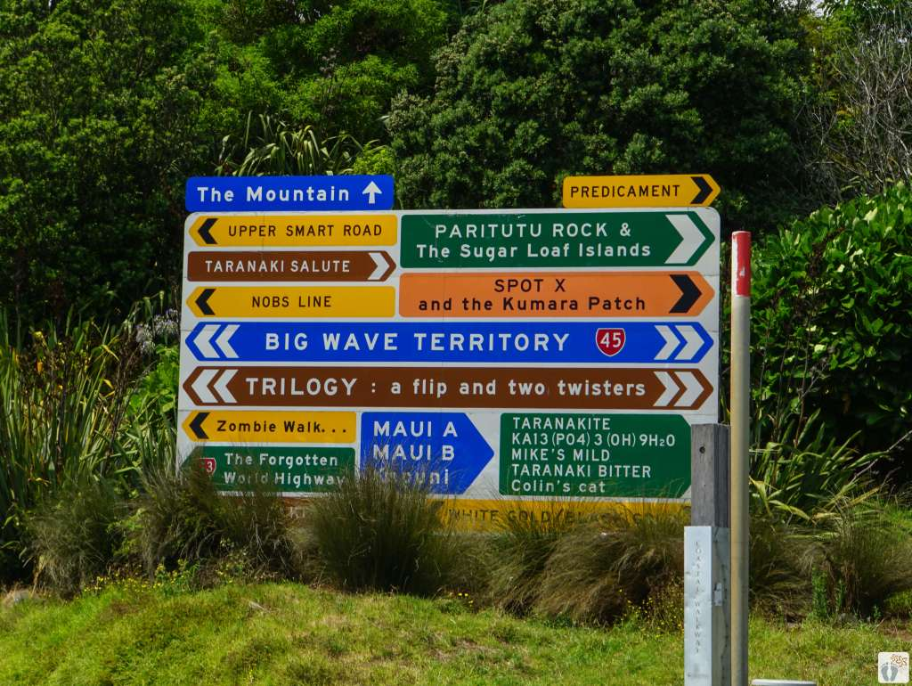 Art Sign {Reisetagebuch «Roadtrip durch Neuseeland mit dem Bus»: New Plymouth}