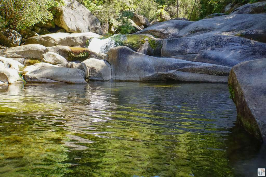 """""""Cleopatra's Pool"""" {Reisetagebuch «Roadtrip durch Neuseeland mit dem Bus»: «Abel Tasman National Park»}"""