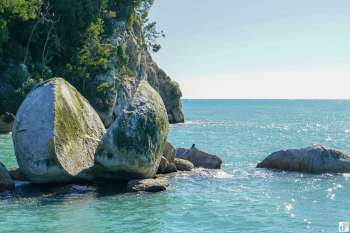"""Split Apple Rock"" {Reisetagebuch «Roadtrip durch Neuseeland mit dem Bus»: «Abel Tasman National Park»}"