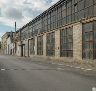 Industriehallen im Kreativcampus-Loomelinnak_Tallinn - Estland