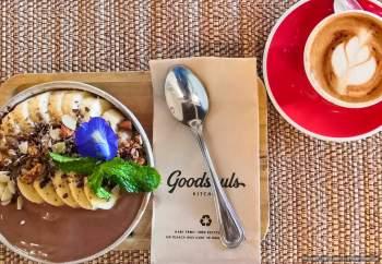 Bananen-Kakao-Bowl in der #Goodsouls Kitchen# in Chiang Mai (Reisetagebuch «Thailand als Alleinreisende ohne Roller entdecken»)