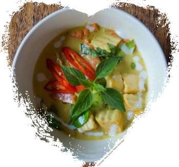 Zabb-E-Lee Thai Cooking School: green curry (Reisetagebuch «Thailand als Alleinreisende ohne Roller entdecken»)