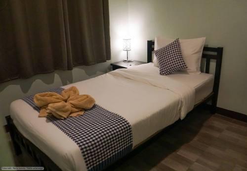 Mango House in Sukhothai - Einzelzimmer (Reisetagebuch «Thailand als Alleinreisende ohne Roller entdecken»)