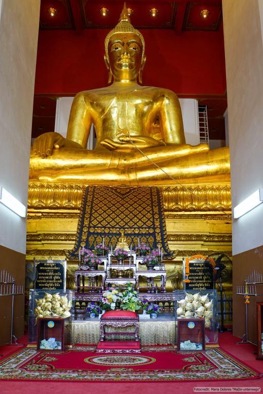 Viharn Phra Mongkhon Bophit in Ayutthaya (Reisetagebuch «Thailand als Alleinreisende ohne Roller entdecken»)