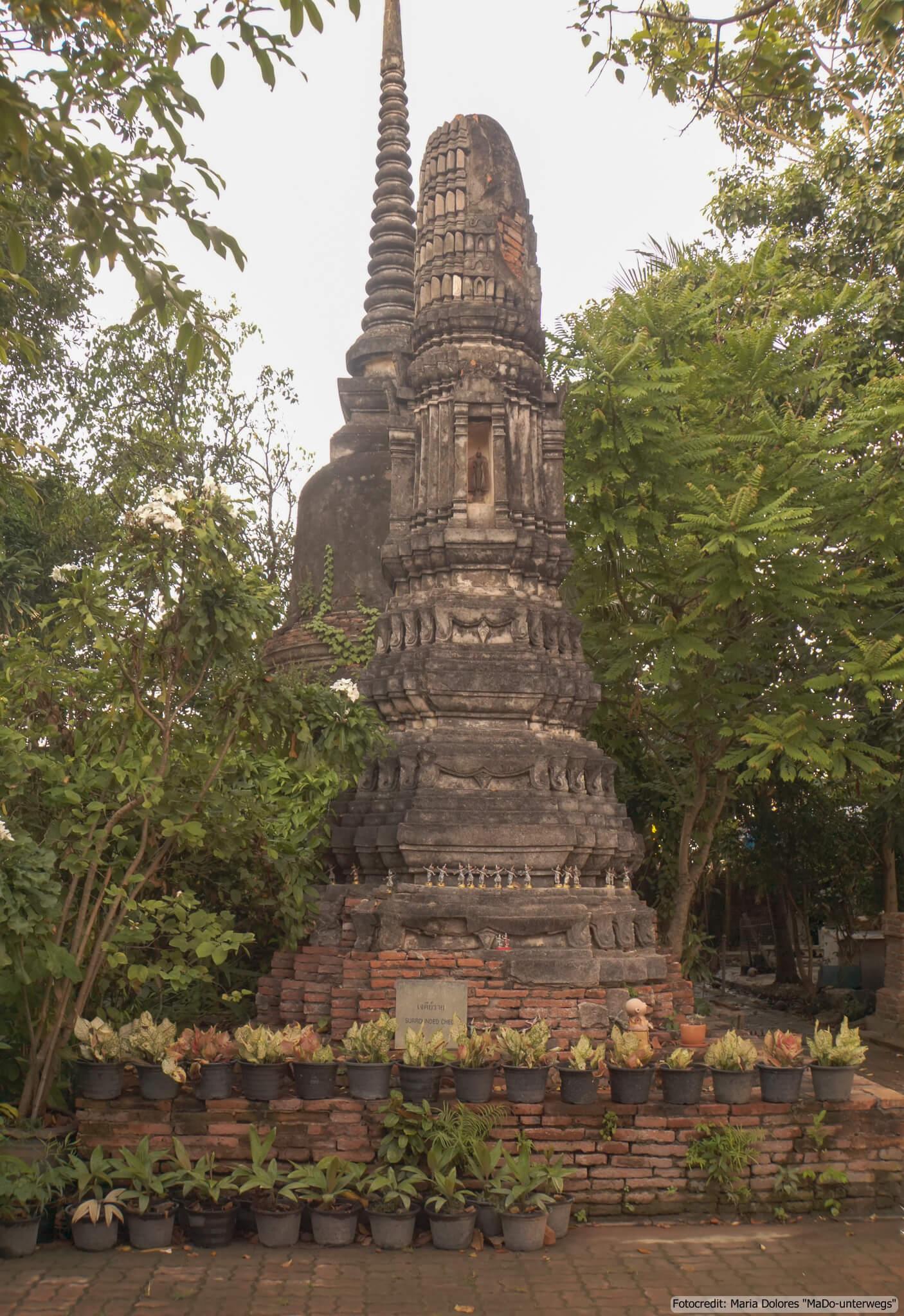 Wat Phutthaisawan in Ayutthaya (Reisetagebuch «Thailand als Alleinreisende ohne Roller entdecken»)