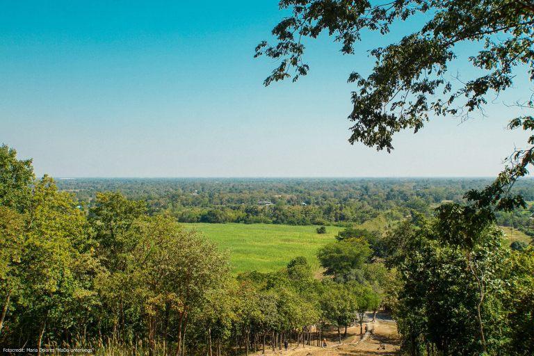 Wat Saphan Hin im Sukhothai Historical Park - Ausblick (Reisetagebuch «Thailand als Alleinreisende ohne Roller entdecken»)
