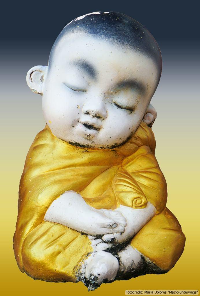 Figur #Meditation# (Reisetagebuch «Thailand als Alleinreisende ohne Roller entdecken»)