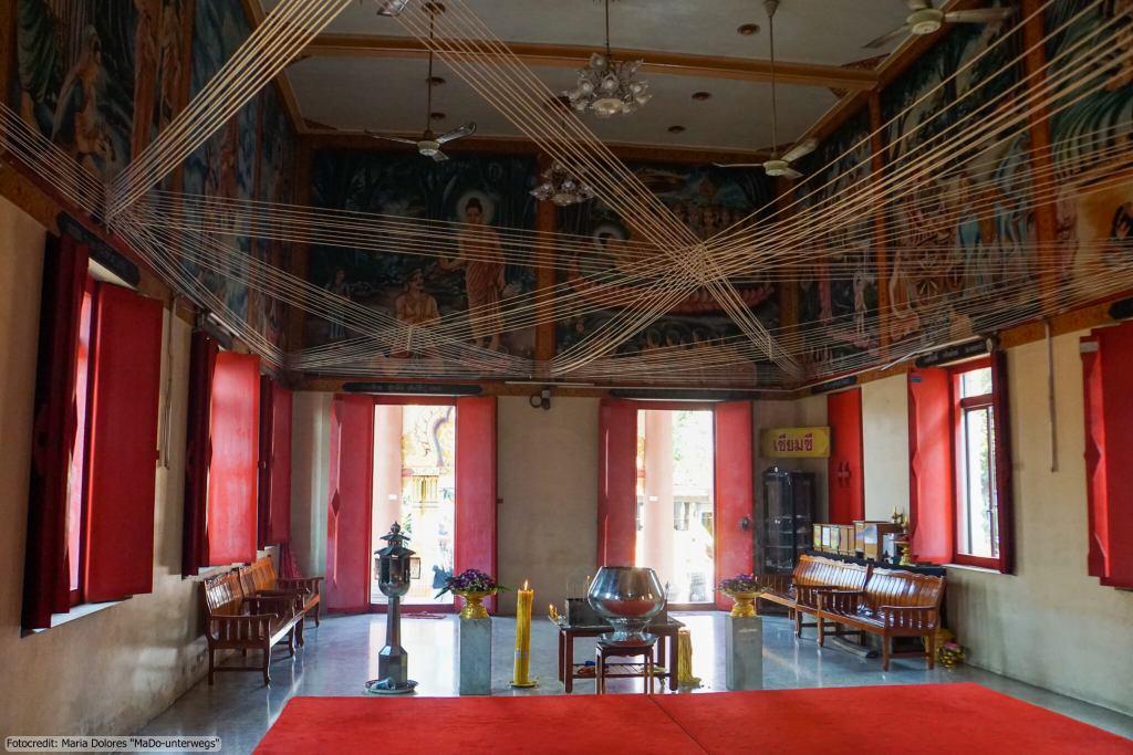Wat Hom Kret in Nakhon Pathom (Reisetagebuch «Thailand als Alleinreisende ohne Roller entdecken»)