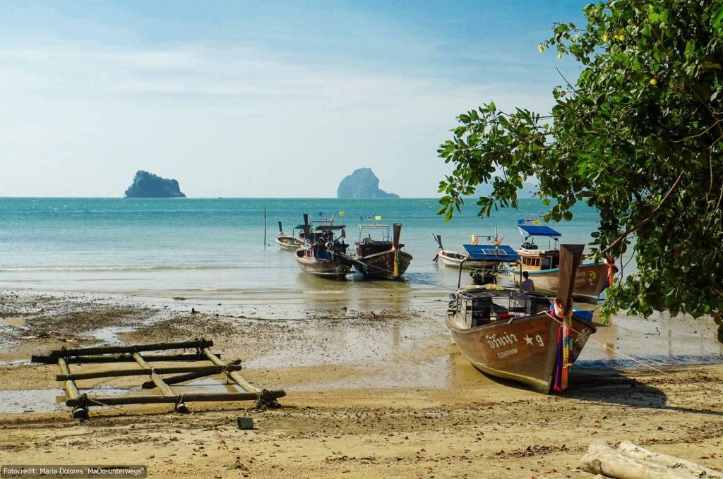 auf Koh Yao Noi in der Andamanensee (Reisetagebuch «Thailand als Alleinreisende ohne Roller entdecken»)