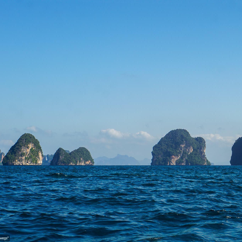 bei der Longtail-Bootstour in der Andamanensee (Reisetagebuch «Thailand als Alleinreisende ohne Roller entdecken»)