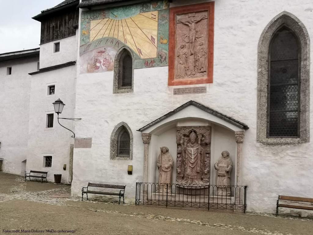 Festung Hohensalzburg: Denkmal von Fürsterzbischof Leonhard von Keutschach [10 Tage Roadtrip Salzburg]