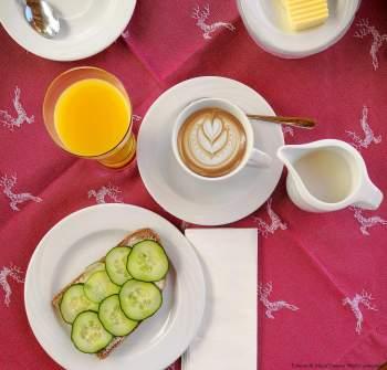 Fuschl am See: Frühstück in der Pension Haslgut [10 Tage Roadtrip Salzburg]