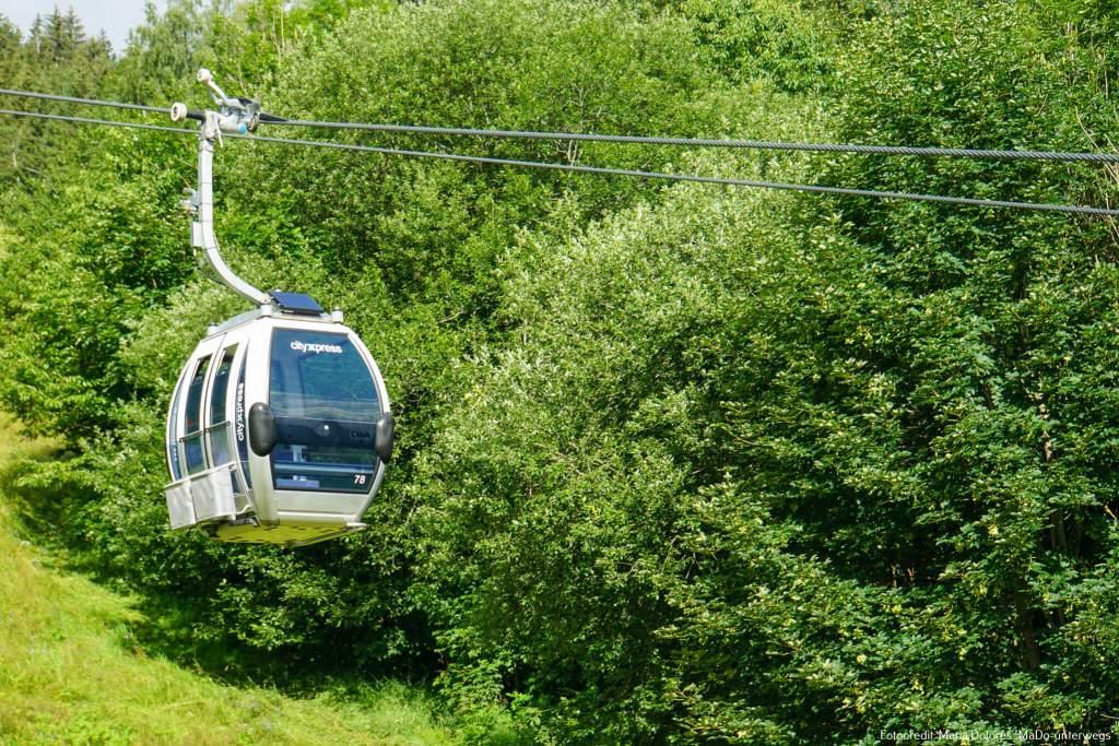 Kabinenbahn cityXpress_Zell am See [10 Tage Roadtrip Salzburg]