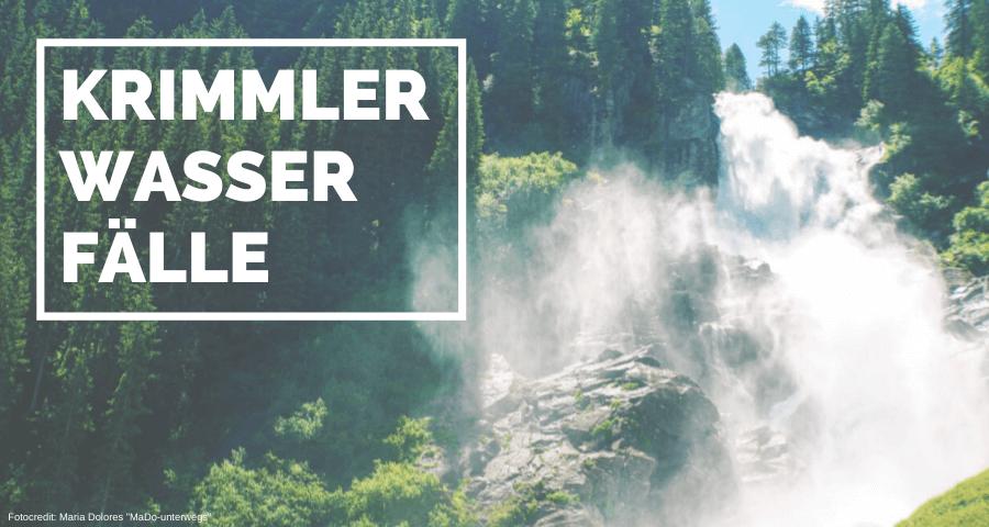 erfrischende Wanderung bei den Krimmler Wasserfällen | 10 Tage Roadtrip Salzburg von Wasser zu Wasser